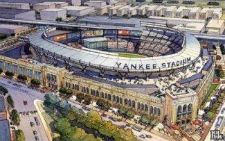 0f531b23f4f39 Yankee Stadium. The Yankee Stadium is a stadium located in the Bronx in New  York ...